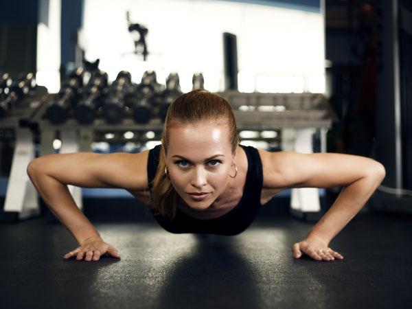 Prone bridge exercise