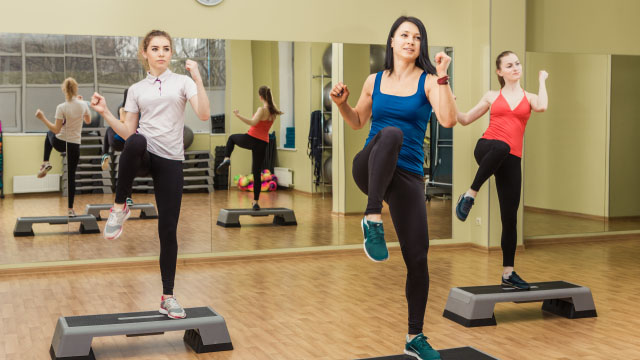 Top 5 Cardio Workouts For Women Step Aerobics