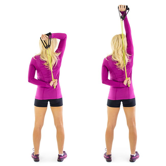Tricep Extensions Resistance Band
