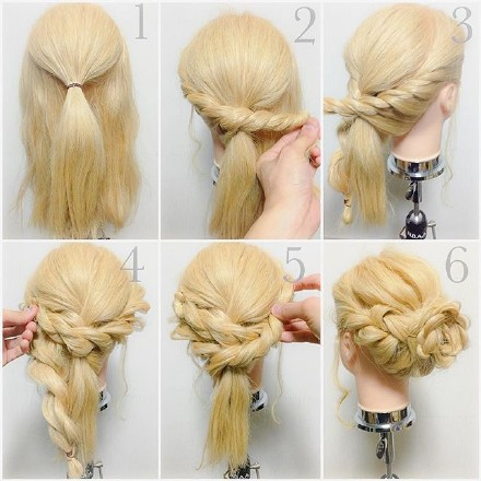 9 step-by-step Hairstyle Tutorials 08