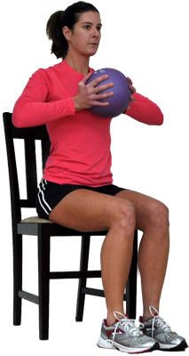 chest-squeeze-with-medicine-ball