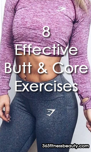 8 Effective Butt Lifting & Core Stability Exercises Share