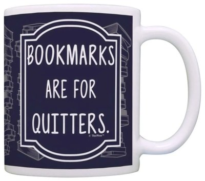 Gifts for Book Lovers That Aren't Books, Bookmarks are for Quitters