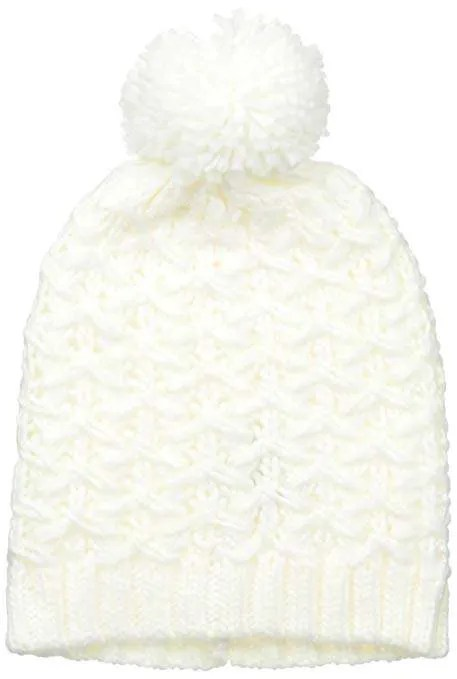 Nine West Women's Chunky Zig Zag Knit Beanie