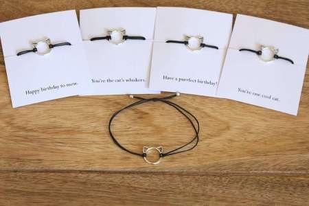 best cat gifts, Adjustable Cat bracelet