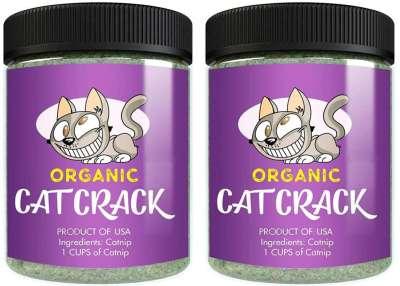best cat gifts, Cat Organic Catnip Crack