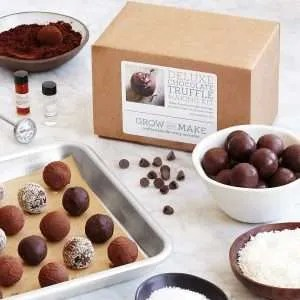 best chocolate gifts, Make Your Own Chocolate Truffles Kit