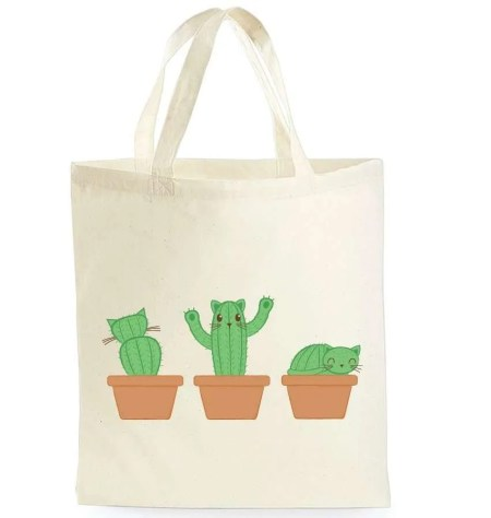 best gifts for cat lovers, Cat Tote Bag