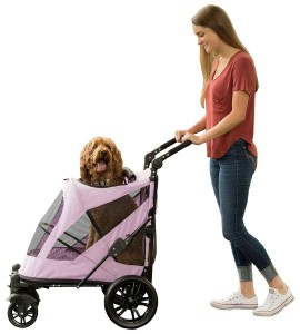 christmas gifts for your dog, Pet Gear No-Zip Pet Stroller