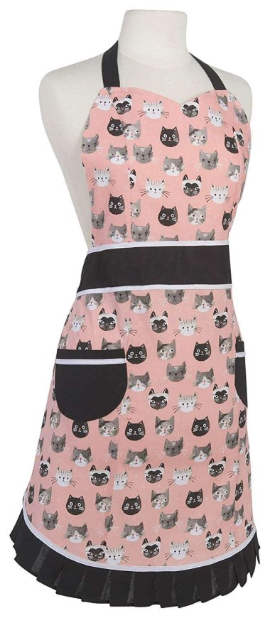 inexpensive gifts for cat lovers, Now Designs Betty Apron