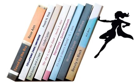 literary gift ideas, Superhero and Super heroine Bookends
