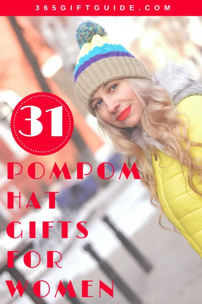 31 pompom hat gifts ideas for women