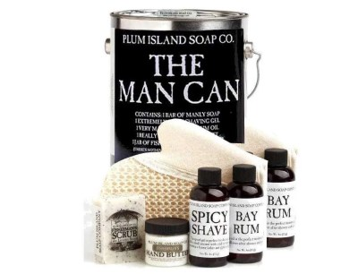 The Man Can All Natural Bath and Body Gift Set, valentines day gift for husband