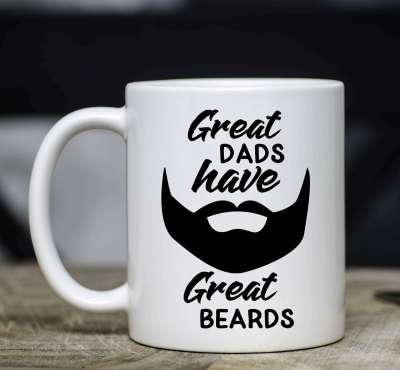 Beard Mug for Dad
