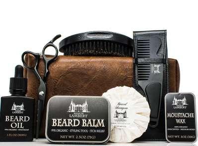 Maison Lambert Black Edition Ultimate Beard grooming Kit