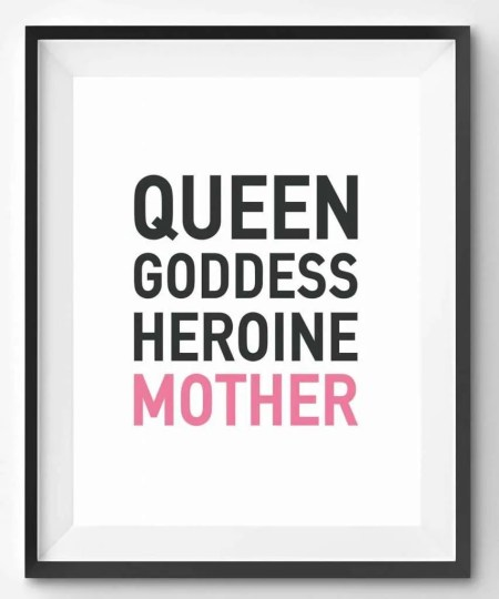 Queen Goddess Heroine Print