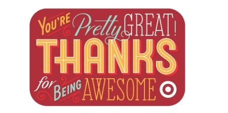 target gift card for teacher appreciation day