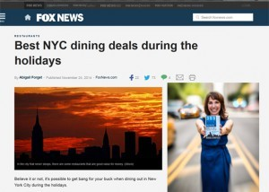 Monica DiNatale Fox News 365 Guide New York City NYC Holidays