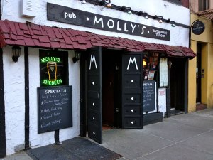 Molly's Pub Shebeen St. Patty's Day NYC 365 Guide New York City