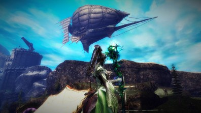 Havoc's Heir Airship...the view from below