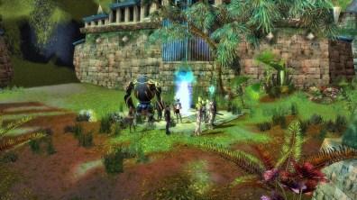 Guild Wars 1 - meeting the Eye of Janthir.