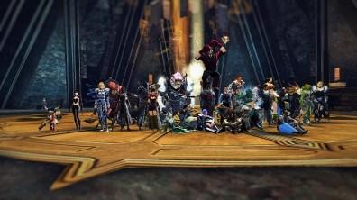 Guild alliance get together.