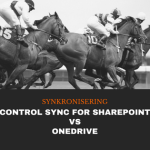 Control Sync for SharePoint VS OneDrive