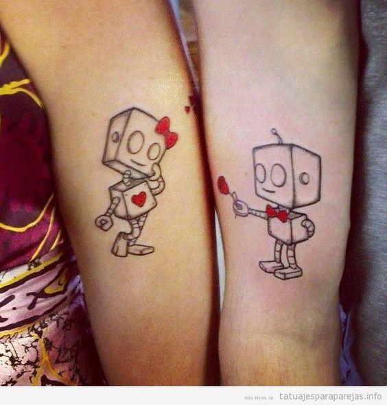 Tatuajes De Amor Para Mujer Y Hombre Tatuajes Románticos