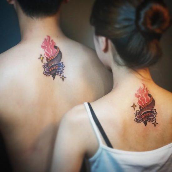 80 Tatuajes De Amor Para Parejas Muy Enamoradas De Novios O Casadas