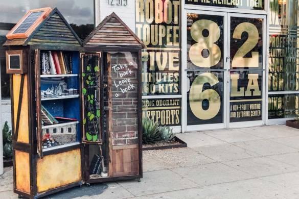 Olvass ingyen – avagy kreatív, közösségi mini-könyvtárak