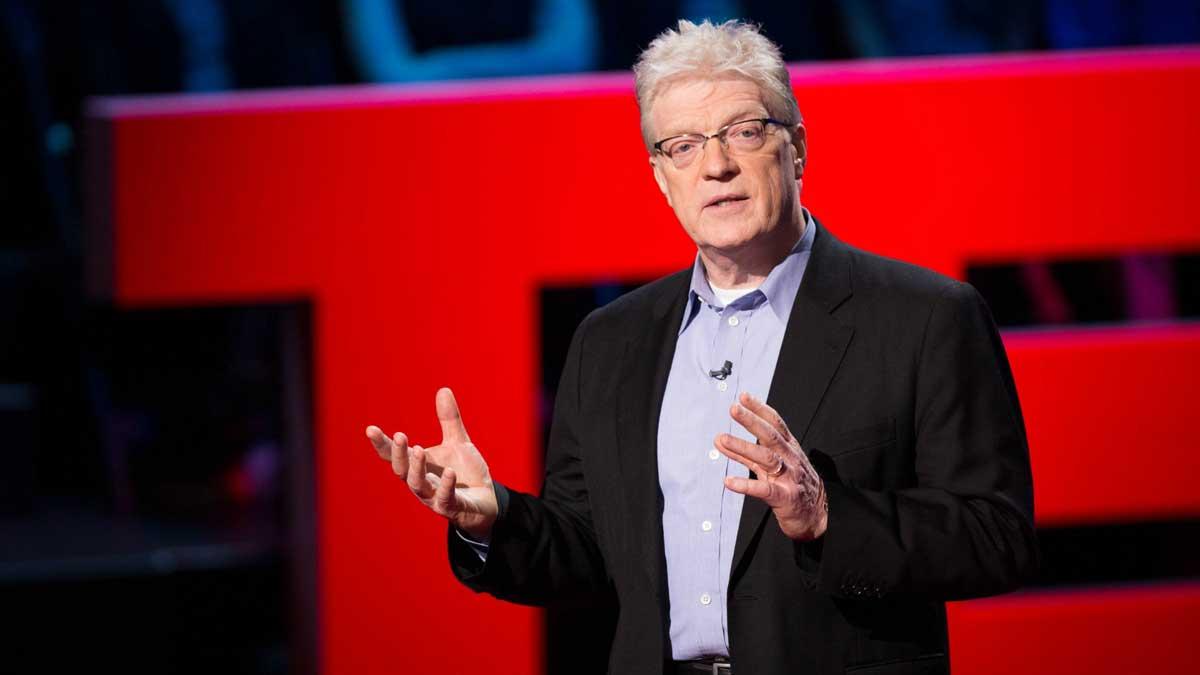 ken-robinson-ted | Hogyan változtatja meg az életed a kreativitás? Ez az 5 TED-előadás megválaszolja.