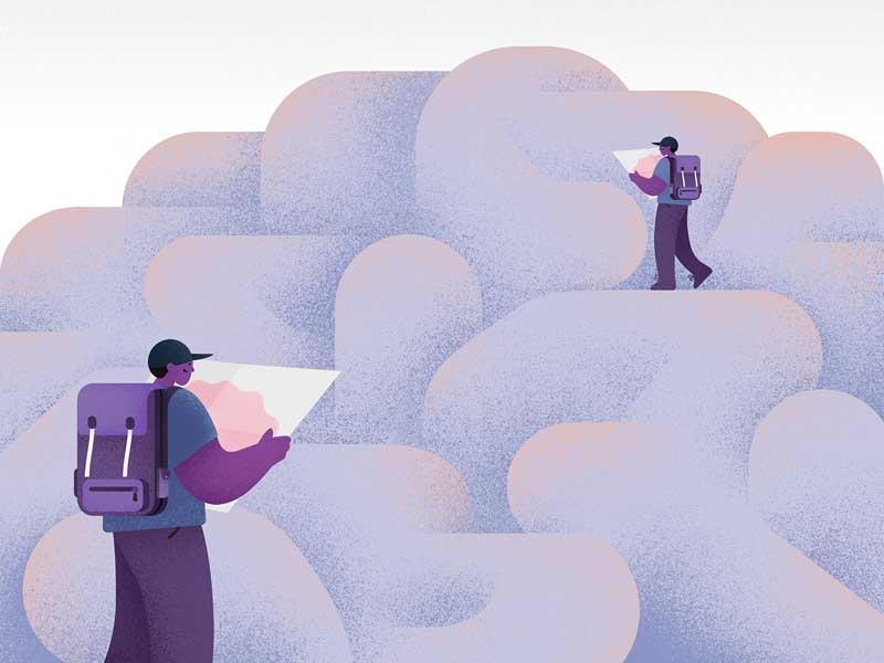 A kreatív gondolkodás lényege, hogy kapcsolatokat keresünk meglévő gondolataink között.