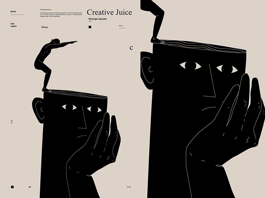 kreatív pihenő