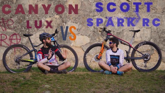 Canyon Lux vs Scott Spark