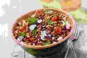 σαλάτα με φακές