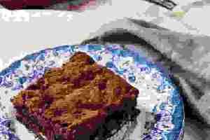 Μπράουνι με φουντουκοβούτυρο χωρίς αλεύρι και χωρίς γλουτένη