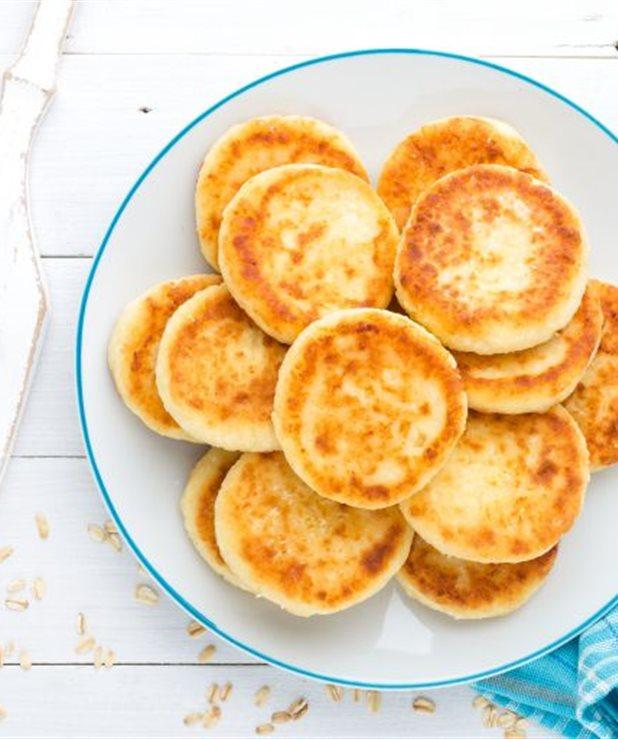 Τηγανίτες με τυρί