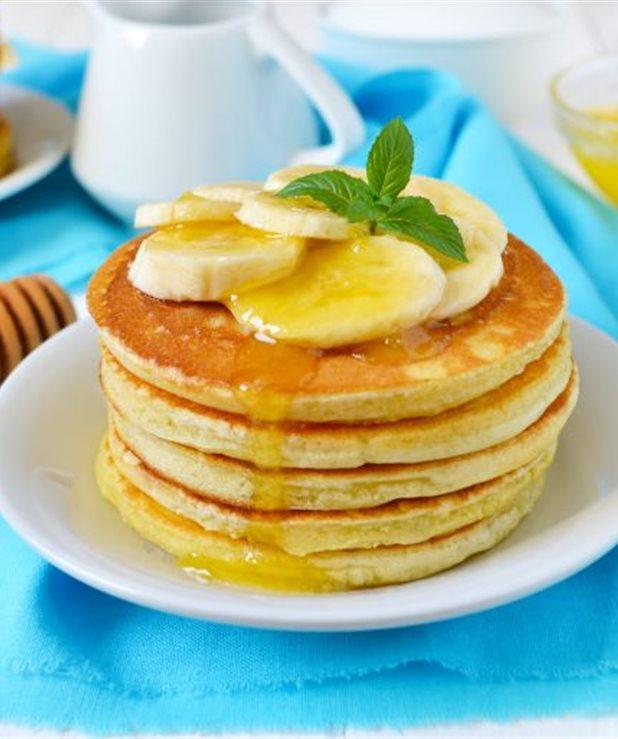Υγιεινές τηγανίτες μπανάνας