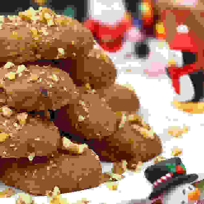 Μελομακάρονα με χαρούπι και ζάχαρη καρύδας! Η υγιεινή συνταγή και για τα παιδιά! - Shape.gr