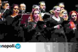 Συναυλία της Χορωδίας δήμου Αθηναίων στο Θέατρο Ολύμπια, με ελεύθερη είσοδο