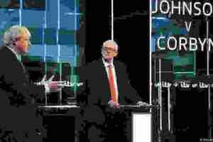 Η τελευταία αναμέτρηση Κόρμπιν-Τζόνσον προεκλογικά | DW | 06.12.2019