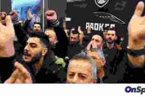 Ολυμπιακός-ΠΑΟΚ: Οι ασπρόμαυρες... ντόπες λίγο πριν την σέντρα (video)