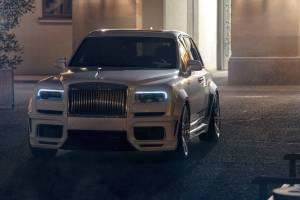 Να πώς στριμώχνεις 685 άλογα σε μια Rolls-Royce Cullinan