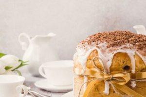 Αφράτο πασχαλινό κέικ