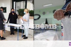 Άνοιξαν τα σχολεία: To newsbomb.gr καταγράφει την πρώτη μέρα για τους μαθητές της Γ' Λυκείου