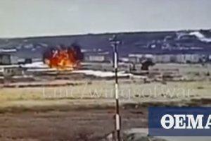 Βίντεο-σοκ: Η στιγμή της συντριβής ρωσικού ελικοπτέρου σε αεροδρόμιο