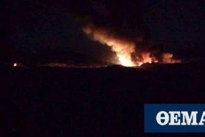 Ισραηλινά ελικόπτερα έπληξαν με πυραύλους θέσεις στη νότια Συρία