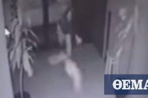 Αδιανόητο βίντεο: 21χρονη πετάει το νεογγένητο μωρό της σε καβγά με τον πατέρα του