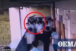 Μαθητής γυμνασίου στην Κίνα πέταξε συμμαθητή του από τον τέταρτο όροφο!