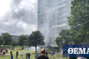 Μεγάλη φωτιά σε συγκρότημα πολυκατοικιών στο Λονδίνο - 18 τραυματίες